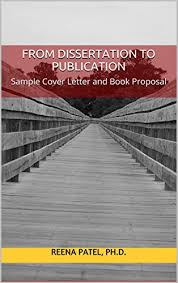 from dissertation to publication sample cover letter and book