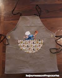 tablier de cuisine pour enfants tablier pour enfant les journées sont trop courtes