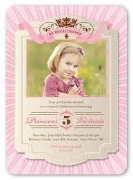 by royal decree 5x7 invitation card birthday invitations