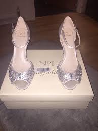 wedding shoes glasgow packham no 1 ivory embellished wedding bridal shoes