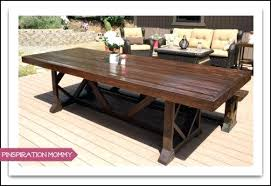wood patio table plans wood outdoor dining table large outdoor dining table wood patio