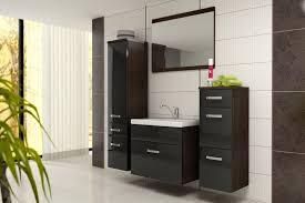 günstige badezimmer badmöbel badezimmer evo 5tlg set in schwarz wenge badmöbel