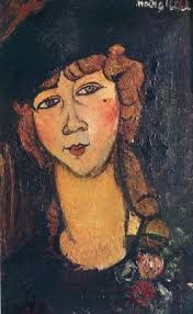 modigliani woman with a fan woman with a fan portrait of chekhov lunii by amedeo modigliani