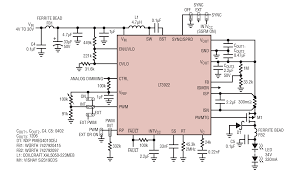 Most Efficient Floor Plans Solutions Low Emi Led Driver Features 2a 40v Integrated