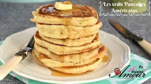 recette pancakes hervé cuisine la recette des vrais pancakes americains pour un goûter et petit