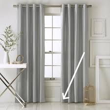 How Wide To Hang Curtains Magnificent Where To Hang Curtains Best 25 How To Hang Curtains