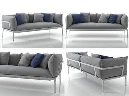 Yale Sofa Bed 3d Model Yale Sofa Cgtrader