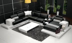 canapé angle u canape angle 8 places canapac cuir design avec led marabella u