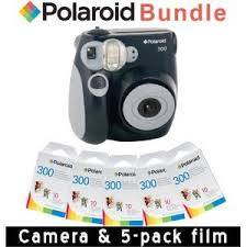 polaroid instant 300 polaroid pic 300 instant in black 5 pack of co uk