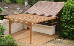 cuisine exterieure en cuisine extérieure maisons en bois yvelines essonne les bois