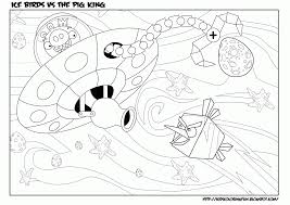 angry birds space coloring pages terence bird angry birds space