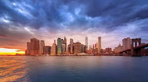 4k new york city skyline day to night timelapse 2 stock video