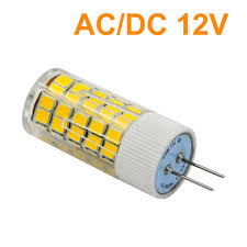 4pcs g4 6w led light 63x 2835 smd leds led bulb lamp ac dc 12v in