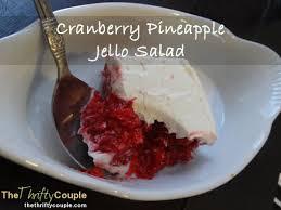 cranberry pineapple jello salad recipe nut and gluten free