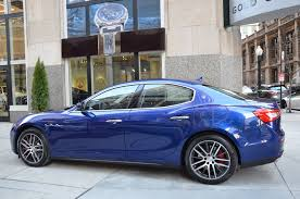maserati ghibli blue 2017 maserati ghibli sq4 s q4 stock m540 for sale near chicago