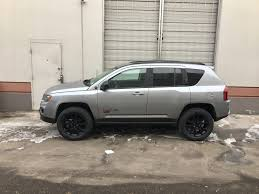 jeep van 2015 2015 jeep compass altitude with rocky road lift and 18 inch tires