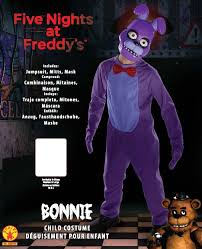 five nights at freddy s halloween update amazon com five nights child u0027s value priced at freddy u0027s bonnie