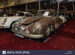 porsche 356 coupe rusty body porsche 356 pre a coupe continental 1955 stock photo