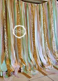 wedding backdrop material items similar to pink mint gold sparkle sequin fabric backdrop