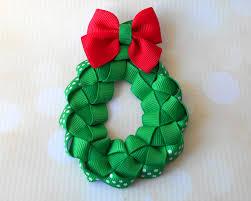 christmas woven ribbon wreath sculpture the hairbow center blog