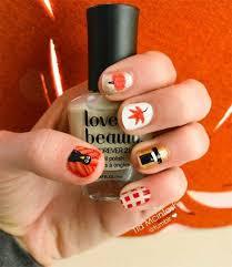 easy thanksgiving nail designs 12 easy thanksgiving nail