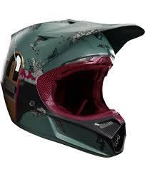 fox motocross australia fox racing v3 boba fett limited edition helmet motocross