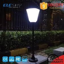 Solar Lights Fence - solar light fence post cap garden lamp garden bolloard led solar