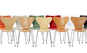 hive modern series 7 side chair wood veneer hivemodern com