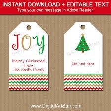 printable christmas gift tags editable christmas hang tagswine tag