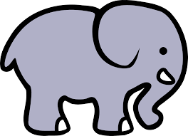 elephant line art free download clip art free clip art on