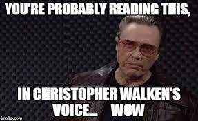 Christopher Walken Cowbell Meme - image tagged in funny memes memes christopher walken christopher