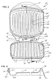 patent us6718866 cooking grill liners google patents