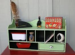 Vintage Desk Organizer Green Vintage Desk Organizer Furniture Pinterest Desks