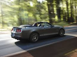 2012 Mustang Shelby Ford Mustang Shelby Gt500 Convertible Photos Photogallery With