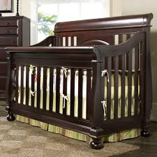 Cribs That Convert Into Toddler Beds by Creations Summer U0027s Evening Convertible Sleigh Crib In Espresso
