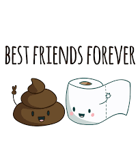 Toilet Paper Funny Best Friends Forever And Toilet Paper Funny