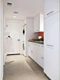 washer and dryer cabinet doors small laundry room ideas stacked