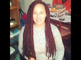 faux dreads with marley hair how to install faux locs on long hair tutorial red black marley