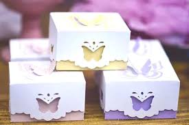 Birthday Favor Boxes by Kara S Ideas Butterfly Favor Boxes From A Butterfly Garden