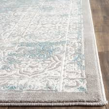 Teal And Gray Area Rug by One Allium Way Auguste Turquoise Ivory Area Rug U0026 Reviews