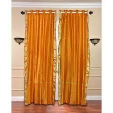 Sari Curtain Yellow Drapes U0026 Panels Sears