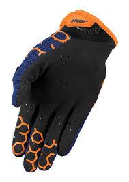 motocross protective gear thor mx motocross men u0027s 2017 draft gloves comb navy orange