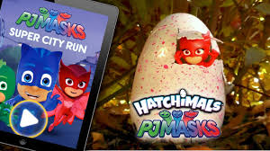 pj masks hatchimals