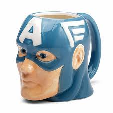 amazon com officially licensed marvel superhero molded mugs 16oz