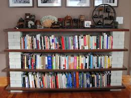 super easy bookshelf bookshelves pinterest book shelves