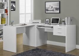 L Shaped Computer Desk White Monarch Specialties I 7027 3 Computer Desk White L Shaped Corner