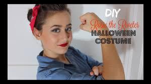 Rosie Riveter Halloween Costume Diy Rosie Riveter Halloween Costume