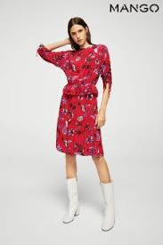 womens mango dresses printed u0026 midi dresses next uk