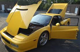 ferrari yellow and black 512tr classic italian cars for sale