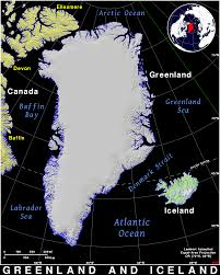 Greenland Map Greenland And Iceland Public Domain Maps By Pat The Free Open